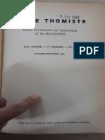 La Doctine de La Conscience de Saint Thomas d'Aquin - Elders