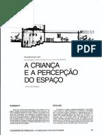 A Criança e percepção do espaço.pdf