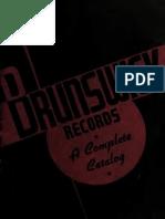Brunswick Records - A Complete Catalog (1938)