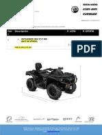 Outlander Max Xtp 850