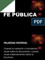 Fe Publica