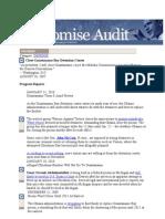 10-09-28 President Obama's Promise Audit