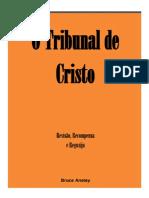 O Tribunal de Cristo Bruce Anstey