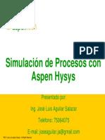 Presentacion - Curso Aspen Hysys