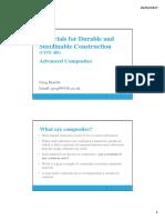 Lecture 8 Advanced Composites