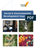 Sustainable Presentation Brochure of conservation and development  programmes Spanish brochure. Strategic programs. En ingles