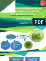 Jurnal_Olopatadine HCl vs Ketotifen Fumarate Untuk Konjungtivitis Alergi