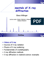 Elena Willinger Fundamental of X-ray Diffraction 141107