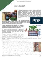 Bacia de Evapotranspiração (BET) _ Gaia Sustentável