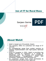 Utilization of ICT in Rural India