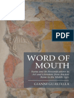 Gianni Guastella Word of Mouth Fama and Its Personifications in Art and Literature From Ancient Rome to the Middle Ages