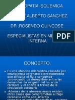 Cardiopatia Isquemica Actualizada II