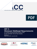 IRP 5 - Minimum Wellhead Requirements - June 20- 2018