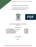 """Ley Orgánica de Gobiernos Regionales""""-Título Vi - Ix"""