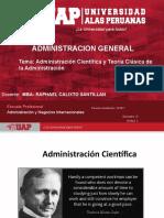 Semana 2 Administración Científica y Teoría Clásica de La Administración-2018-1