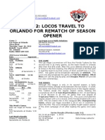 Locos Game Notes