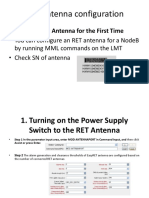 RET Antenna Step by Step