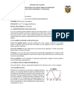 Curvas Planas y Ecuaciones Parametricas