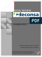 Social Review IDECON SAU
