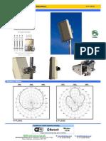Antena 9db Sector