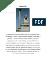 3- Pompey's Pillar