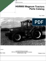 8940 Case Ih Magnum Tractor Parts Catalog