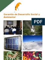 Brochure Presentacion de programas de Conservacion y Desarrollo, folleto en espanol. Programas estrategicos.