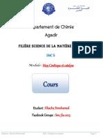 Cours  Cinétique Et Catalyse   www.rachidscience.com