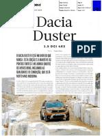 """NOVO DACIA DUSTER 1.5 dCi 4X2 NA """"AUTO DRIVE"""