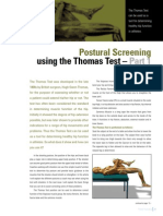 Postural Screening Part 1