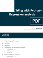Regression With Python