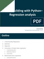 Regression With Python