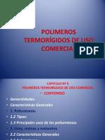 3.9 - Polímeros Termorígidos de Uso Comercial - 2016