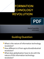 Information Technology Revolution