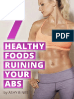 7 Healthy Foods Ruining Your Abs_oct15