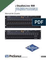 StudioLiveRM-SeriesOwnersManual ES 06082015