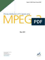 EBU tech3291 PRIMARY DISTRIBUTION OF TV SIGNALS USING MPEG-2.pdf