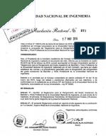 r.r Nº371 17-03-16 Reglamento de Grados y Titulos