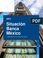 Bancomer Research, Situacion Banca Mexico 2018