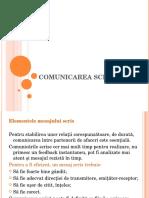 10. Comunicarea scrisă.ppt