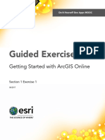 Section1Exercise1-GettingStartedWithArcGISOnline