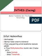HELMINTHES - Cestoda