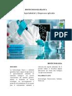 Biotecnologia Blanca
