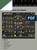ArcSyn User Manual