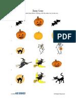 Activity Sheet   PreK-K   Halloween