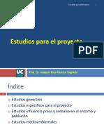 2. Estudios Para El Proyecto. UC-AIN-Active