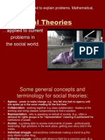 Social Theories (credits to the owner)