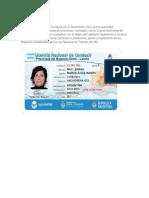 Definición La Licencia Nacional de Conducir