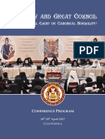 Program - Booklet Final 7 2017 Holy Council