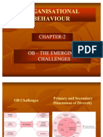 Organisational Behaviour- The Emerging Challenge